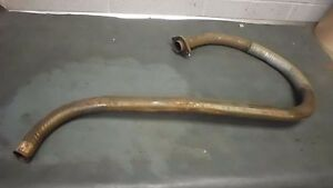 Jeep Willys Mb Gpw Nos Exhaust Pipe Side Outlet Style 100 Original G503