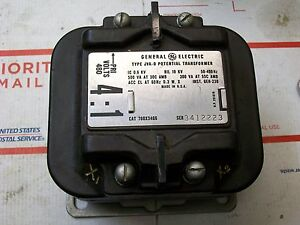 Ge Type Jva 0 Potential Transformer Primary Volts 480 4 1 760x34g6
