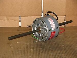 New Magnetek 3 Speed 1 6 Hp Double Shaft Blower Motor Stock 143 Model Ha3g651n