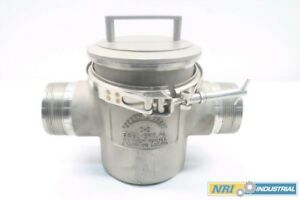 Eriez B 3 Magnetic Ferrous Trap 3 In Npt Male Sanitary Stainless