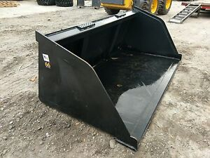New 66 Skid Steer tractor Snow mulch 5 1 2 Bucket for Bobcat Case Cat
