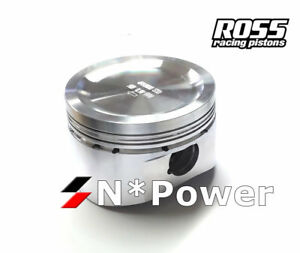 Ross Forged Pistons Rings 040 For Nissan Sr20det 2 0l Turbo 180sx 200sx Silvia