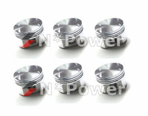 Ross Forged Pistons Rings 020 For Nissan Rb20det 2 0l Turbo Skyline R32 Cefiro