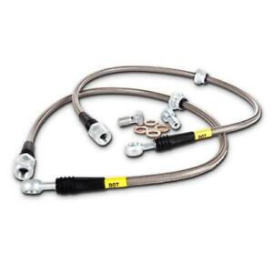 Stoptech 950 46005 Evo 8 9 Stainless Steel Front Brake Lines