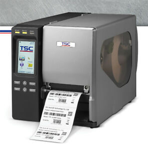 Tsc Ttp 2410m 203 Dpi Industrial Label Usb Par Ser Eth Touch Lcd Printer New