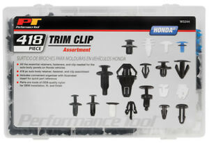 Performance Tool 418pc Honda Trip Clip Asst W5244