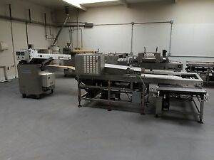 Bread Divider Moulder And Automatic Panning System stress free