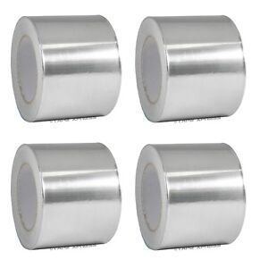 4 Rolls Aluminum Foil Tape 4 X 150 With Liner Malleable Foil Free Shipping