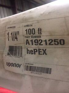 Uponor wirsbo A1921250 1 1 4 X 20 Hepex Straight Length lot Of 10ea 200ft