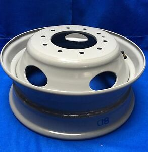 05 20 Ford Super Duty Dually F450sd F550sd 19 5 x6 Steel Wheel Rim 10 Lug 5 Slot