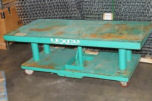 Lexco Lk Goodwin 6 X 3 Hydraulic 1 000 Lb Lift Table
