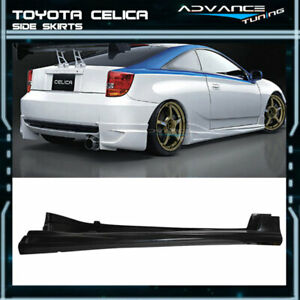 Fit For Toyota Celica 00 05 Poly Urethane Side Skirt Spoiler Bodykit