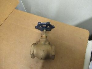 Powell Globe Valve Fig 650 Brass Bronze 2 Npt Threaded 125 New