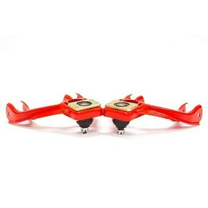 Blox Competition Series Adjustable Front Camber Arms Kit For 92 95 Civic Red