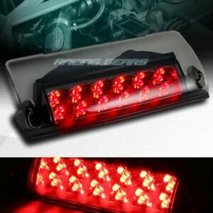 Smoke Lens Led Third 3rd Brake Stop Tail Light Lamp Fit 93 02 Pontiac Firebird