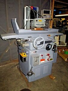 Chevalier Falcon 2a Automatic Surface Grinder 6 X 18 With Dro Electromag Chuck