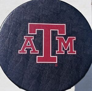 Texas A m University Aggies Spare Tire Cover Up To 32 Diameter Vinyl