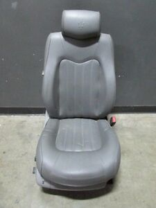 Maserati Quattroporte Rh Right Front Seat Grey Without Airbag Used
