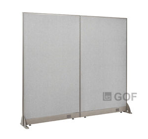 Gof Office Freestanding Partition 72 w X 72 h Office Divider