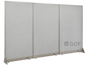 Gof Office Freestanding Partition 108 w X 72 h Office Divider