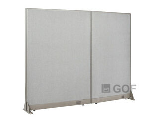 Gof Office Freestanding Partition 78 w X 72 h Office Divider