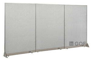 Gof Office Freestanding Partition 144 w X 72 h Office Divider