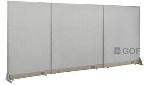 Gof Office Freestanding Partition 120 w X 60 h Office Divider