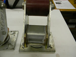 New Larcaster Fork Lift Stabilizer Caster Lc3501 Yale Hyster Barrett Ac A7