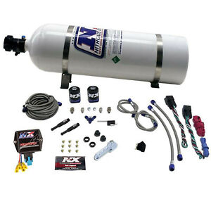 Nitrous Express Nxd4000 Sx2d Dual Stage Diesel System W Mini Controller