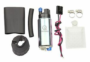 255lph High Performance Fuel Pump Kit Replaces Walbro 01 Gss341