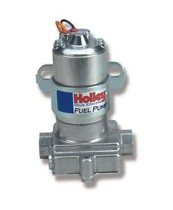 Holley 12 812 1 Blue Electric Fuel Pump 110 Gph Without Regulator