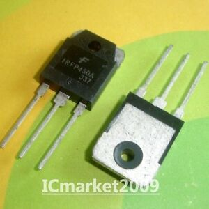 50 Pcs Irfp450a To 247 Irfp450 Fairchild 500v Hexfet Power Mosfet