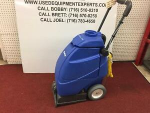 New Clarke Clean Track 12 Commercial Carpet Extractor Floor Scrubber