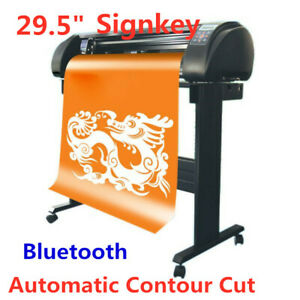 29 5 Signkey Vinyl Cutter Sign Plotter Common Cutting System Bluetooth Output
