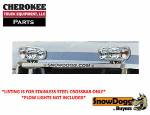 Snowdogg Buyers Products 16111516 Small Plow Light Bracket Shroud Stainless
