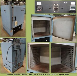 Blue M Oven Bench top Cabinet Oven Industrial Oven