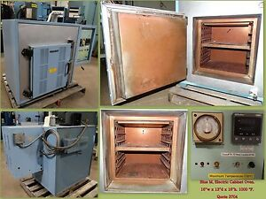 Blue M Oven Bench top Cabinet Oven Industrial Oven 1000 F