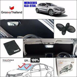 1 Pc Front Windshield Foldable Curtain Car Sun Shade Fit Benz Gla X156