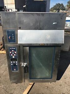 Alto shaam 10 18 Electric Combitherm Convection Oven Steamer With Ventless Hood