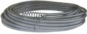 Drain Snake 50 Auger Cable Replacement Pipe Clog Sewer Cleaner Plumbing Supply