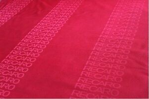 Red 3mx1 6m Auto Recaro Fabric Racing Car Seat Cover Cloth Decoration Material