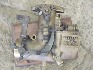 Antique Linkert R 13 U 1c Brass Carburetor Carb R13u