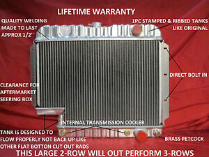 1959 1960 1961 1962 1963 Chevrolet Car El Camino Radiator With 500 Box Steering
