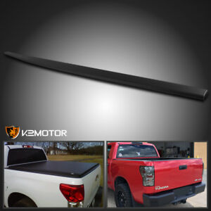 For 2007 2013 Toyota Tundra Texture Abs Black Upper Protector Cover Top Tailgate