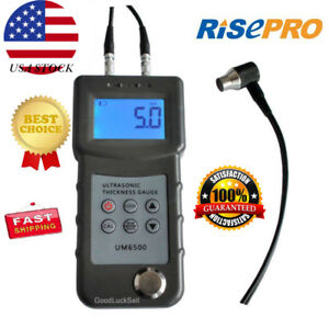 Us Sseyl Um6500 Handheld Digital Ultrasonic Thickness Gauge Tester Meter Risepro