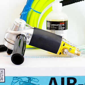 Alpha Air 680 New Ultimate Pneumatic Polisher Granite Concrete Stone Air Water