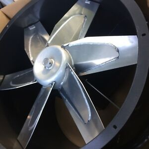 New Exhaust Fan 34 Tubeaxial With Aluminum Blade Dayton Model 3c413