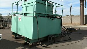 3 000 Gallon Diesel Fuel Storage Tank Self Contained W catwalk Built In 2014