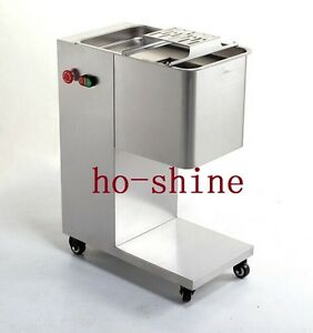 Brand New Removable Slicing Cutting Meat Machine 400kg hour 1 Cutting Blade