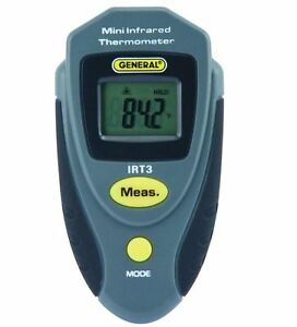 General Tools Mini Portable Temperature Infrared Thermometer With 4 1 Spot Ratio